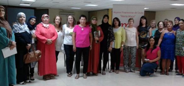 Mujeres Progresistas, durante el encuentro.