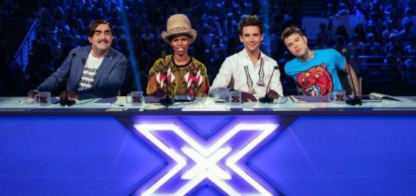 Nella foto i giudici di X-Factor 2015