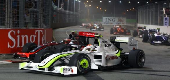 Gran Premio de Singapure, circuito Marina Bay.