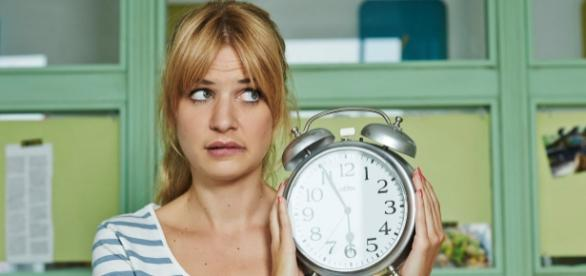 """""""Mila"""" ihre Zeit ist schon abgelaufen! Foto: Sat.1"""