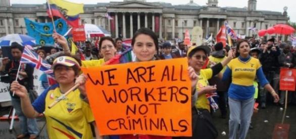 Muncitorii români din Anglia pusi la zid?