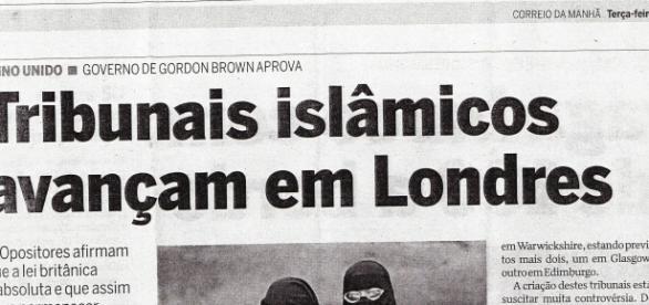 O avanço islamico no ocidente.