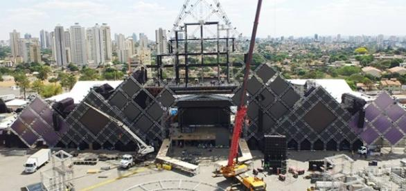 O Maior Palco De Shows Do Mundo