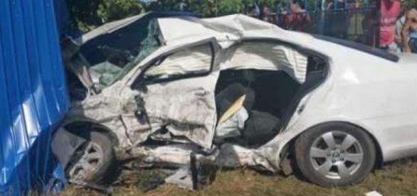 Ambulanta implicata intr-un accident mortal