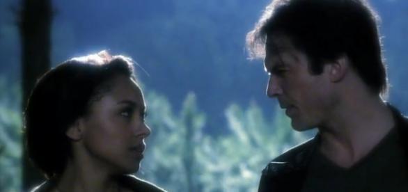 Bonnie e Damon vão ficar próximos