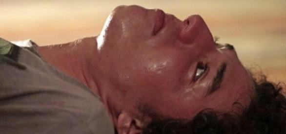 Cena de overdose de Bruno choca