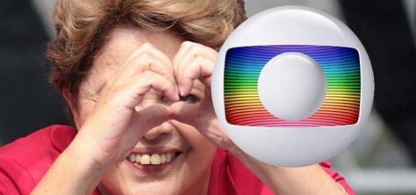 Globo terminar relação de amor com Lula e Dilma