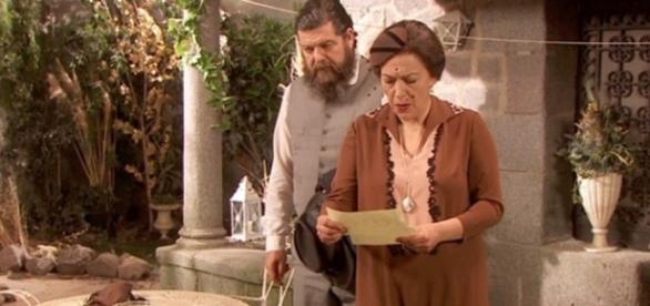 Il Segreto: Francisca riceve la lettera da Ascanio