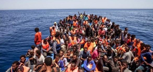 Milhões de refugiados estão chegando à Europa.