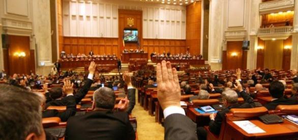 Moțiunea va fi votată joia viitoare