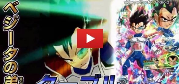 Tarble en el juedo Dragon Ball Heroes
