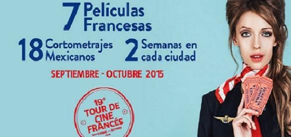 El Tour de Cine Francés inicia el 4 de septiembre.