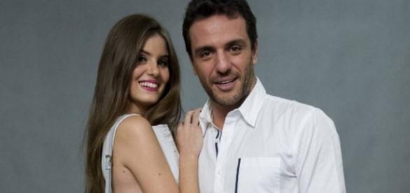 Mulher de Rodrigo Lombardi fala sobre novela