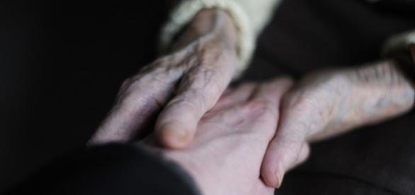 O gesto da criança fez a avó ganhar vida.