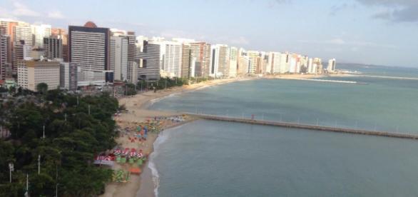 Orla de Fortaleza (CE) praia do Meireles
