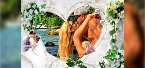 Aline e Fernando vão se casar na próxima semana