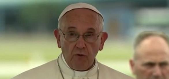 El Papa Francisco durante su discurso en La Habana