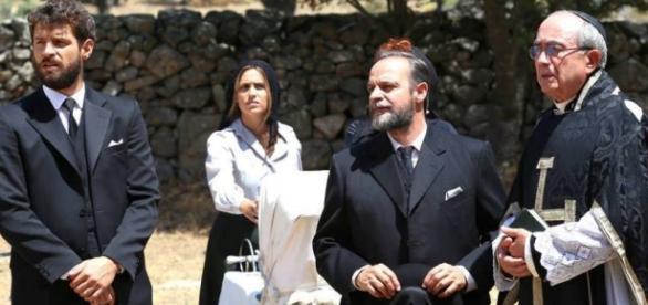 Il Segreto: Il funerale di Donna Francisca