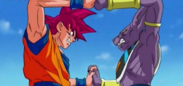 Uno de los momentos mas impactantes de la pelea