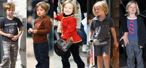 filha de Angelina Jolie quer ser menino