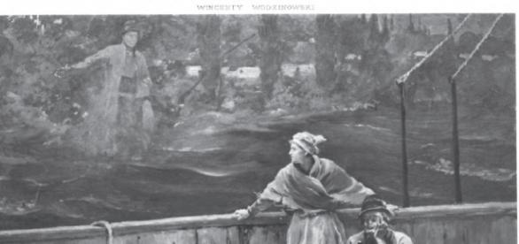 Wawrzon i Marysia na statku do Ameryki