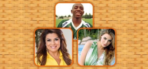 Amaral, Mara e Rayanne estão em 'A Fazenda 8'