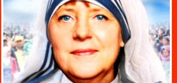 Angela Merkel,miloasa Europei. Foto: Der Spiegel