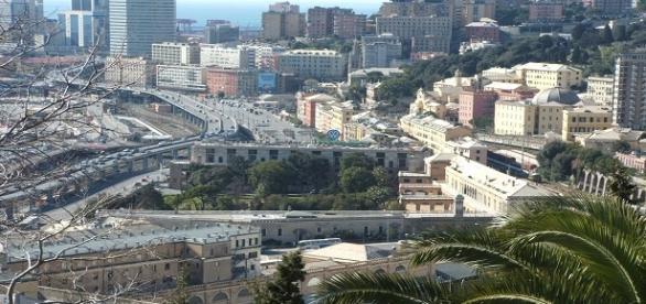 Genova, la città in cui è avvenuta l'aggressione