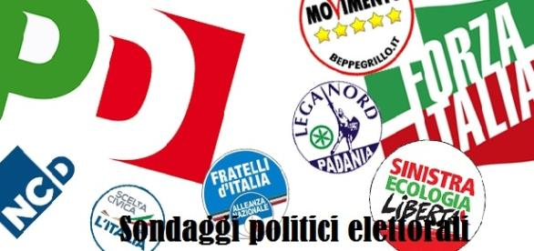 Sondaggi politici elettorali 2015 Emg Tg La7