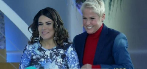 Xuxa e Mara Maravilha se reencontram