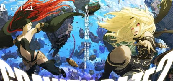 Gravity Rush 2 (Fuente: Twitter PlayStation Japón)