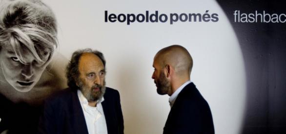 Leopoldo Pomés en la presentación de la exposición