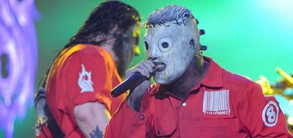 A banda Slipknot no Rock in Rio em 2011