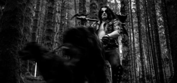 Abbath com vídeo ao vivo Fenrir Hunts