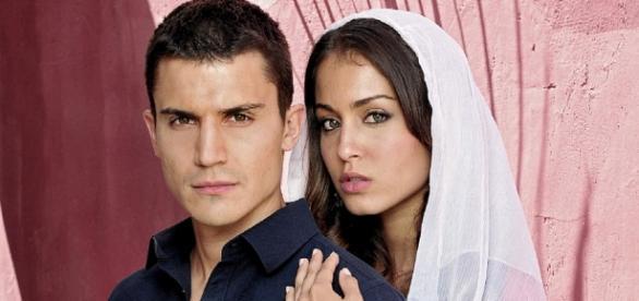 Fatima e Javier, protagonisti de Il Principe 2