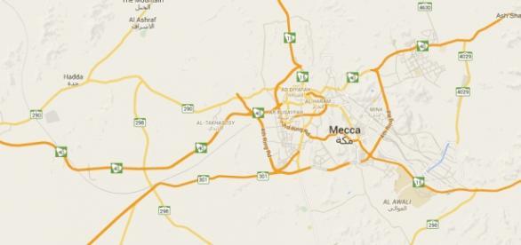 Mecca é o centro da peregrinação islâmica.