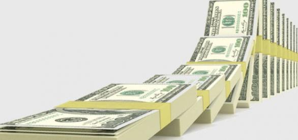 Quinto aumento consecutivo do dolar