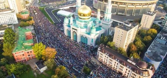 Rosyjska stolica świętuje Kurban Bajram
