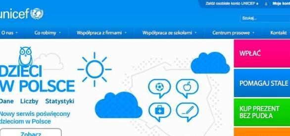 Serwis internetowy o sytuacji dzieci w Polsce