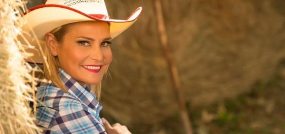 Simona Ventura in country style | Foto Web