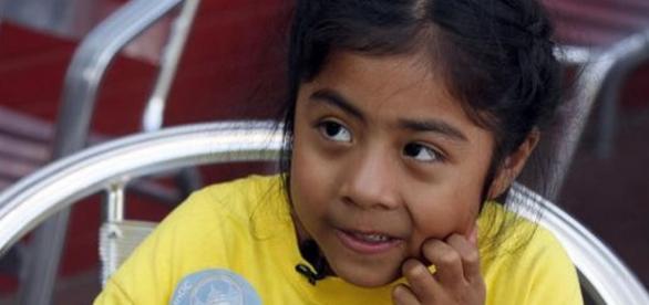 Sophie Cruz fetiţa care s-a întâlnit cu Papa