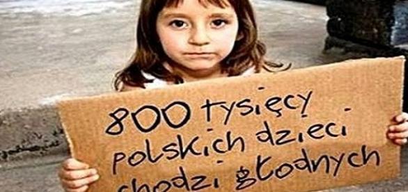 Bieda często ma twarz dziecka.