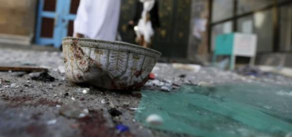 Indícios do ataque sunita do El na mesquita Balili