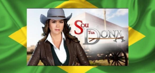 O Talento de Lucero conquistou os brasileiros