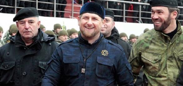 Szef Republiki Czeczeńskiej Ramzan Kadyrow