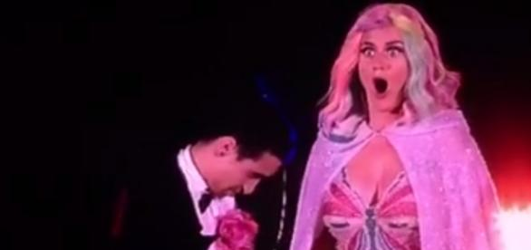 Katy Perry ficou sem sem entender nada