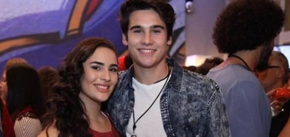 Lívian Aragão e Nicolas Prattes terminam namoro