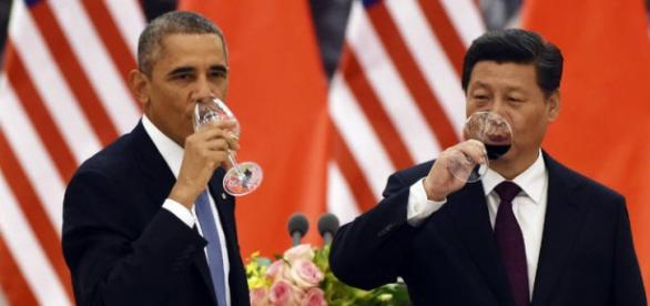Obama recebe Xi Jinping na Casa Branca
