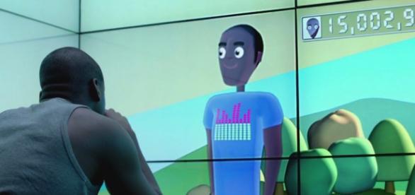 Una scena della 2a stagione di Black Mirror