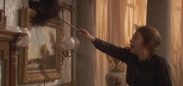 Donna Francisca è stata rapita a Il Segreto